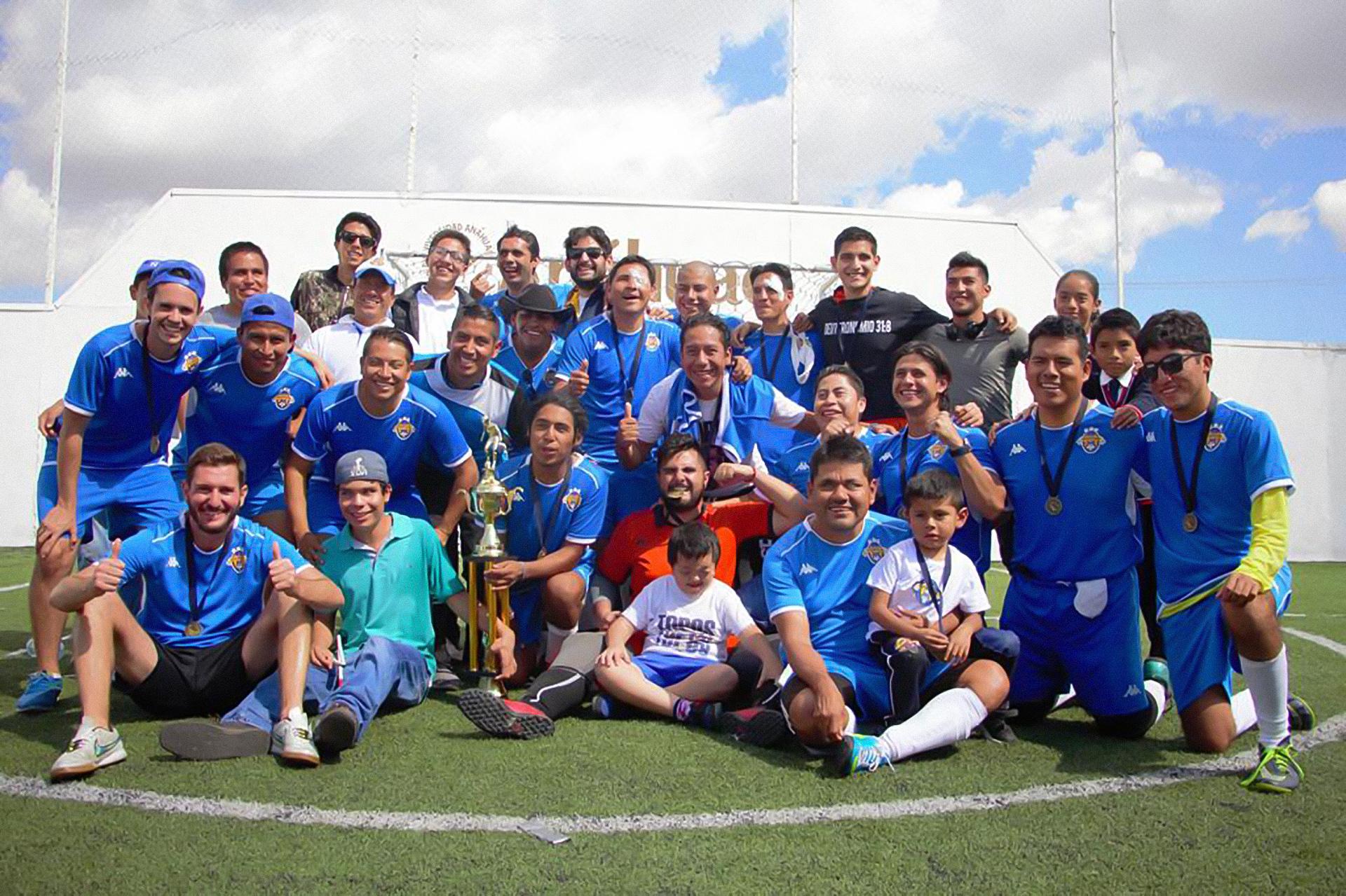 Equipo Topos FC Varonil
